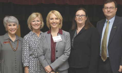 Nursing faculty hosts luncheon for ULM PD
