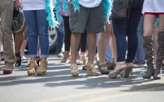 Walk a Mile in Her Shoes steps on sexual abuse issues
