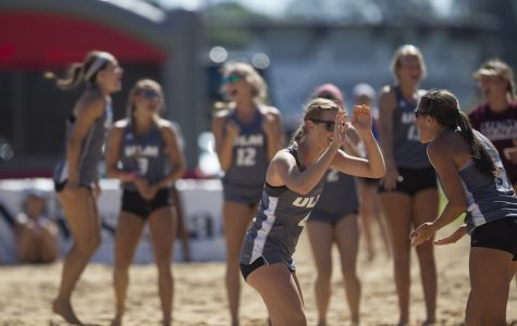 Seniors play their final game on home beach
