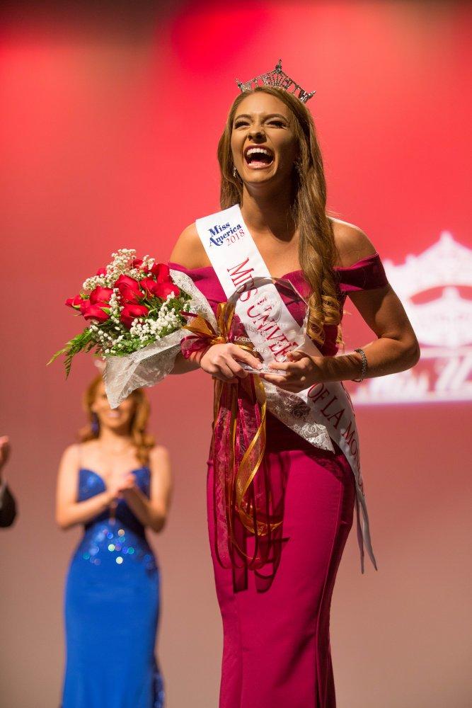 Miss ULM 2018, Hagen Campbell.