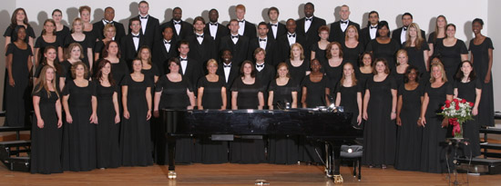 Choral groups holding concert