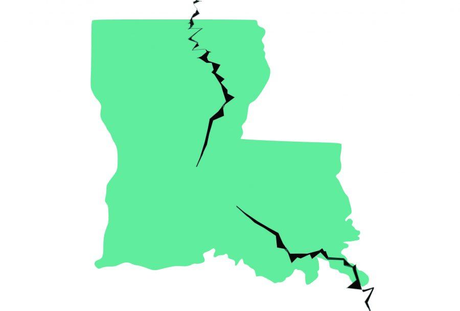 louisiana fault line map Is Louisiana On A Fault Line The Hawkeye louisiana fault line map