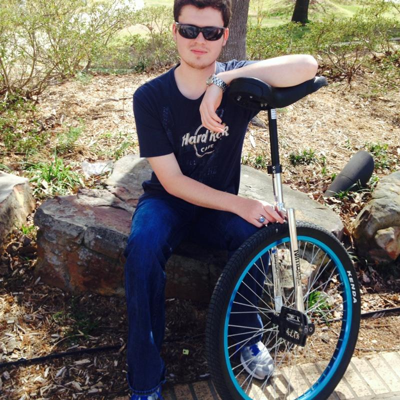 Traveling across campus one wheel at a time