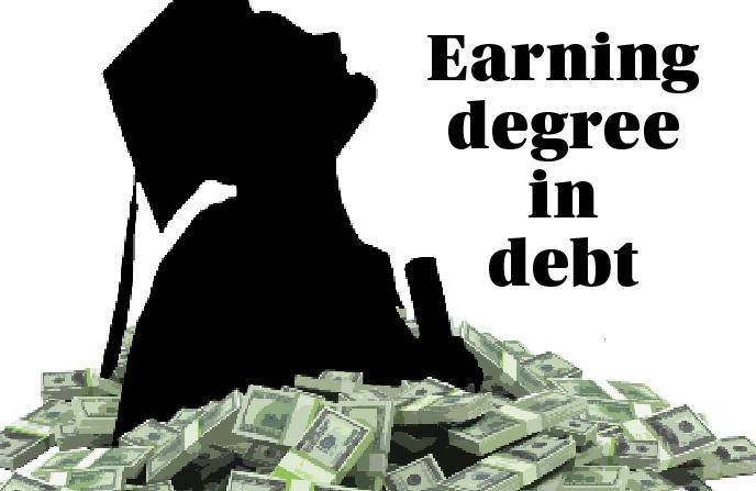 Debt+accumulated+in+college+crushes+student+spirit