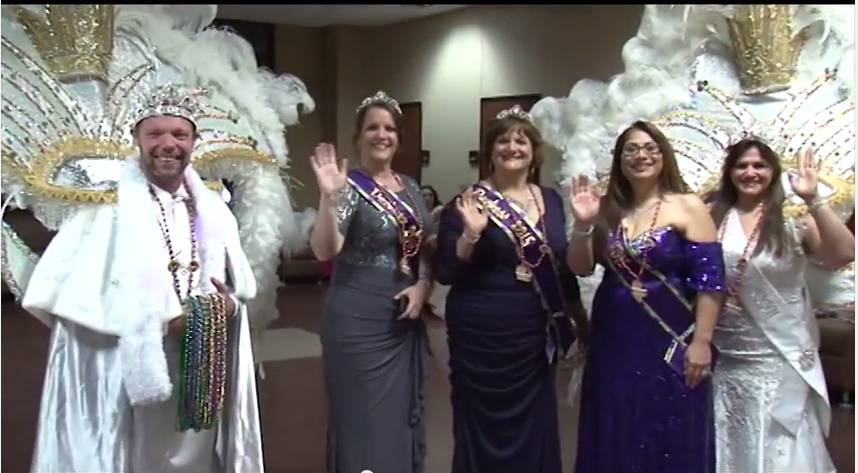 ULM+celebrates+annual+Mardi+Gras+Ball