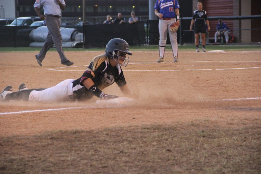 Softball splits week