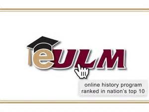 eULM history programs ranks top 10 in nation