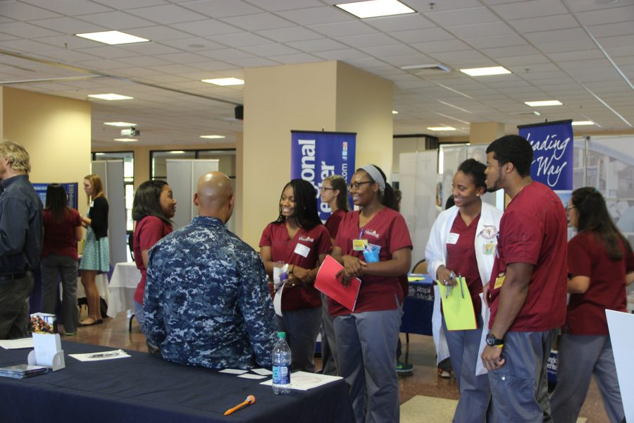 Career fair introduces students to medical field