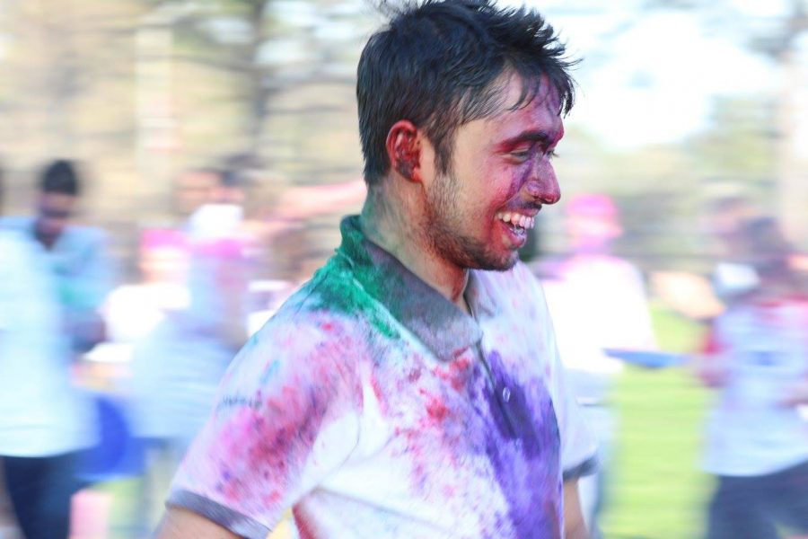 Color-coated celebration: Holi held in Bayou Park for first time