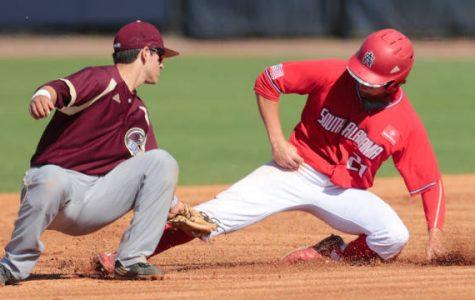 Baseball pounced on by Jaguars