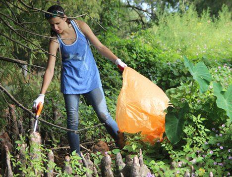 Water sweep keeps Bayou DeSiard neat