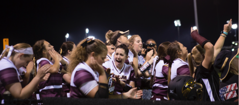 Softball defense leads to victory over Eagles