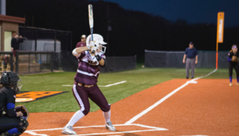 Jayden Mount looks to get on base and put her team ahead.