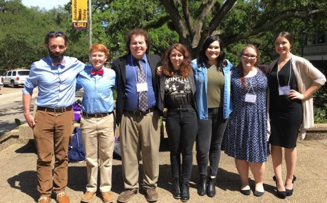 Warhawks represent at LSU Discover Day