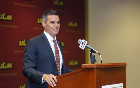 New ULM baseball coach highlights hopes for season