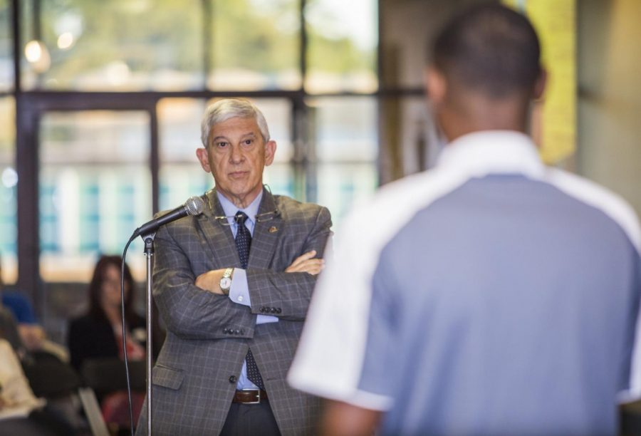 Bruno holds student forum to discuss campus issues