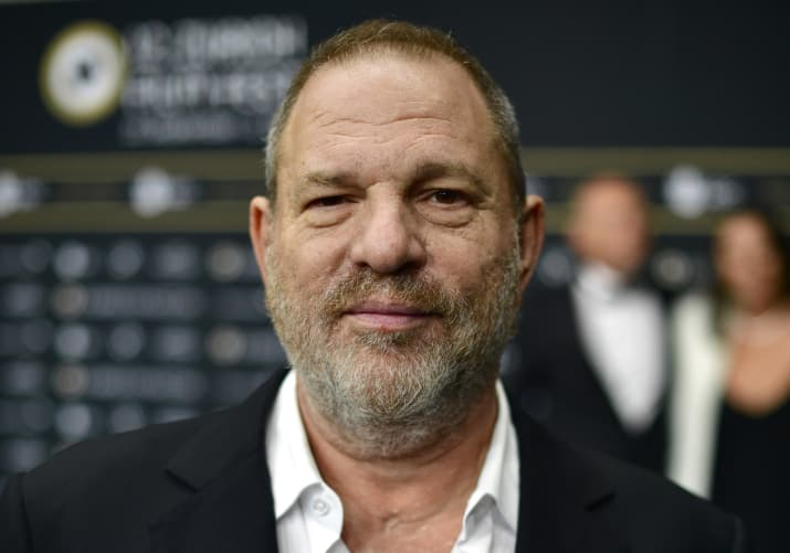 Sopranos actress accuses Weinstein of rape