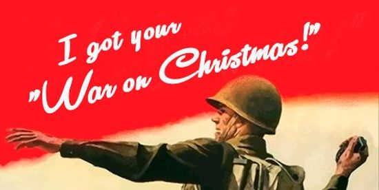 There is no such thing as a 'War on Christmas'