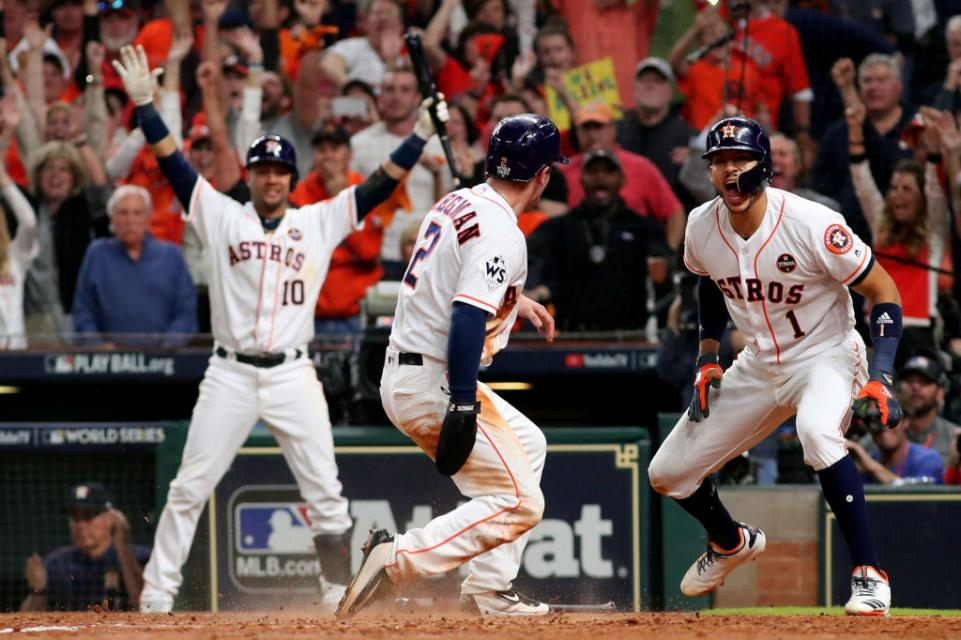 MLB selling dirt from Astros' Game 7 World Series win