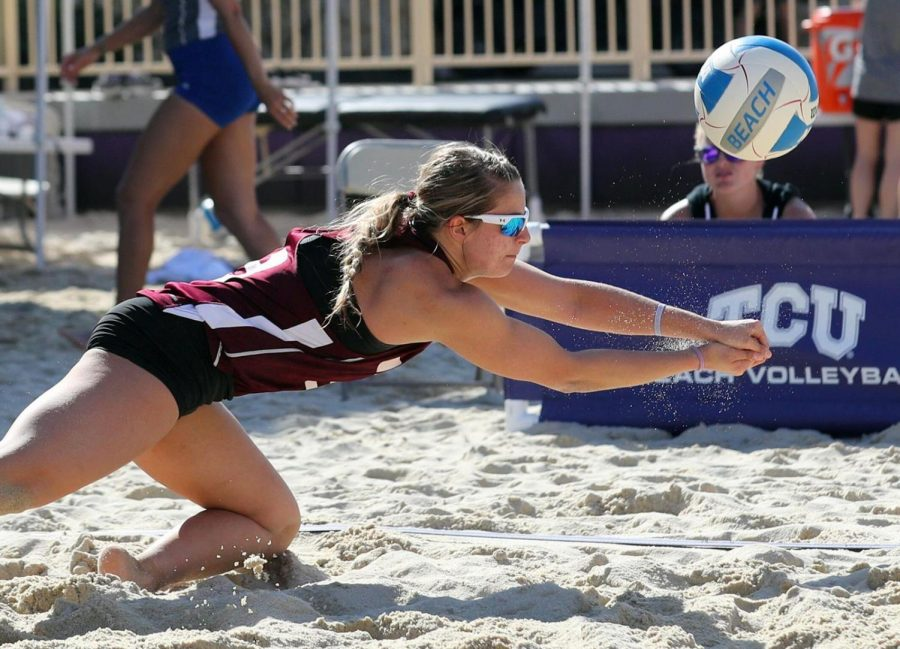 Beach volleyball sweeps the field in Nola
