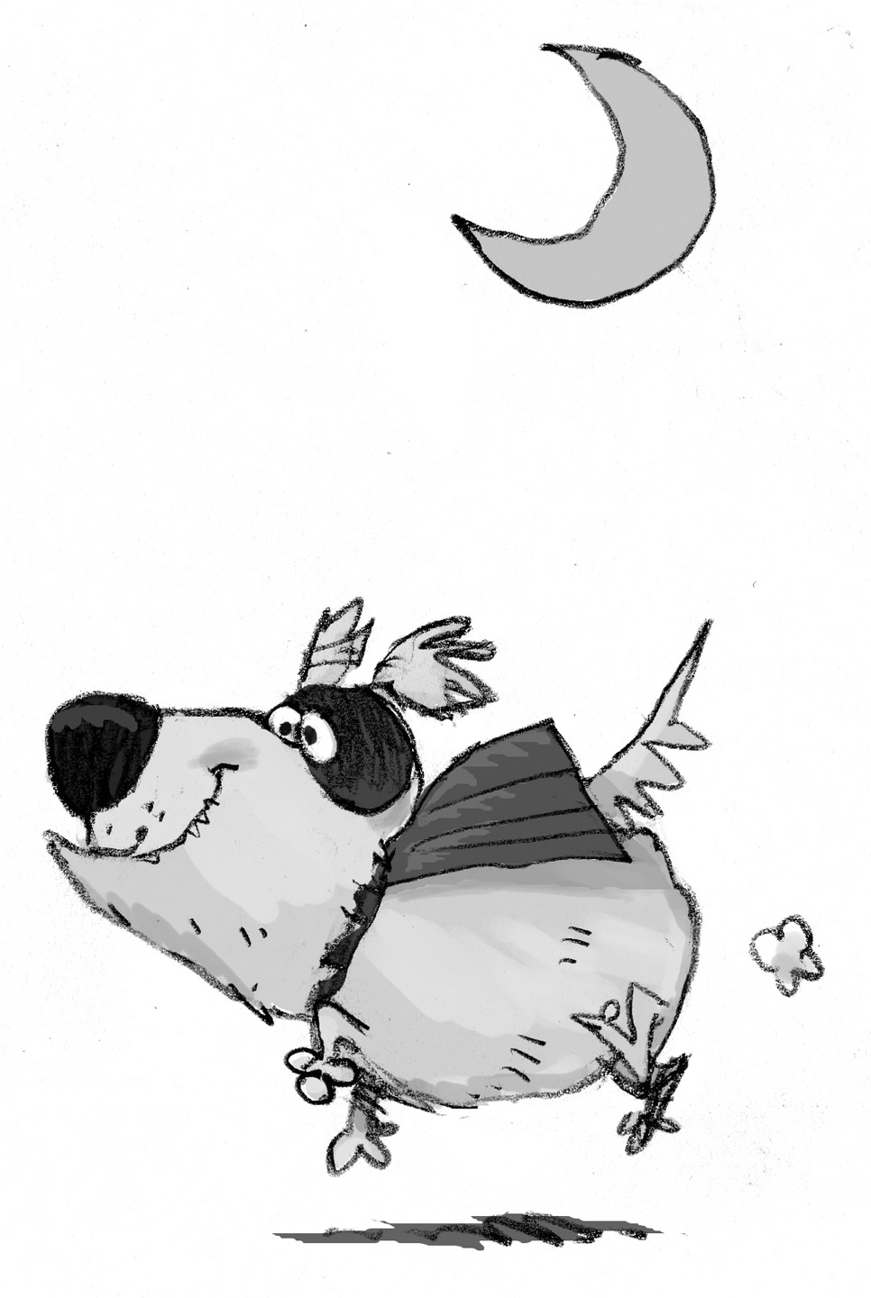 300 dpi Chris Ware illustration of dog in Halloween costume. Lexington Herald-Leader 2012<p>  krtnational national; krt; krtcampus campus; mctillustration; krtdiversity diversity; youth; 10011000; FEA; krtfall fall; krtfeatures features; krthalloween halloween; krtholiday holiday; krtlifestyle lifestyle; LEI; leisure; LIF; public holiday; risk diversity youth; lx contributed ware; 2012; krt2012; animal; pet; dog; trick or treat; trick-or-treater