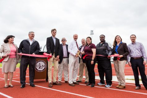 Groseclose Track and Field unveiled to the public