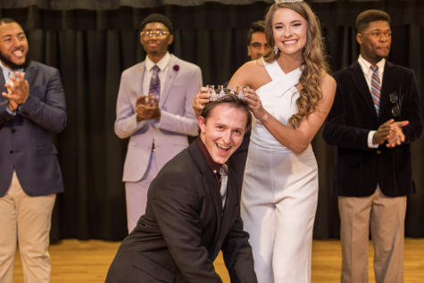 Healy crowned inaugural Mr. ULM