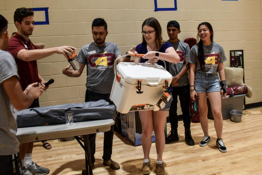 Games, prizes welcome students back to school
