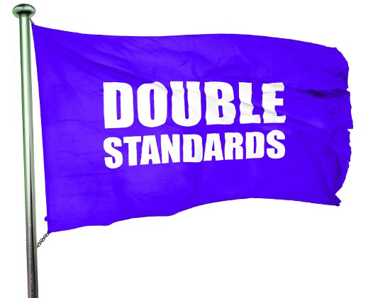 Double the x equals double the standard