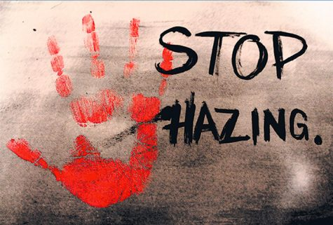 We need to see that hazing is an issue