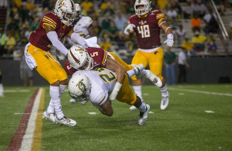 ULM soars past Lions in dramatic fashion