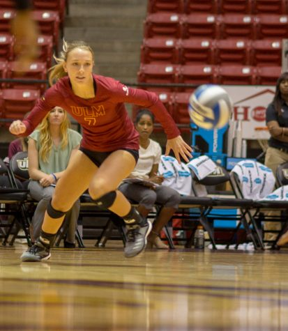 Volleyball splits 2-game road trip