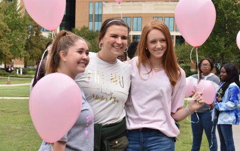 Sororities go pink for breast cancer awareness