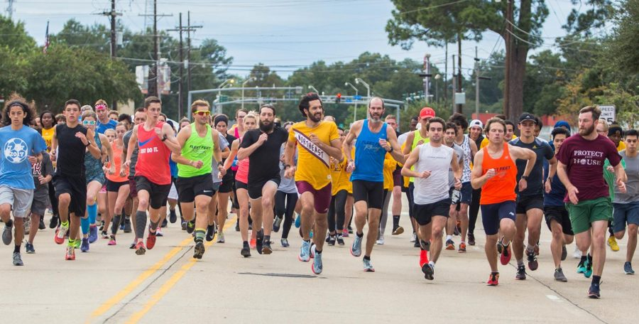 University Mile: One step at a time