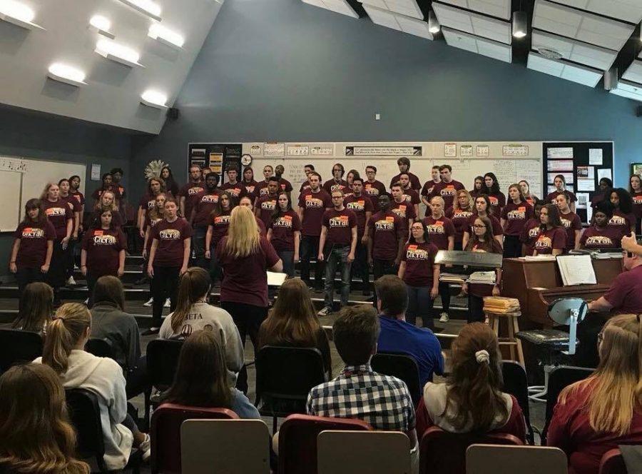 Choir takes a tour