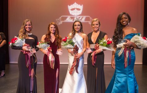 Miss ULM: Campbell passes on her crown