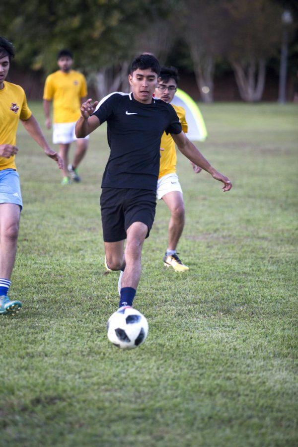 Soccer for hunger awareness