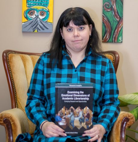Librarian Lowe releases new book