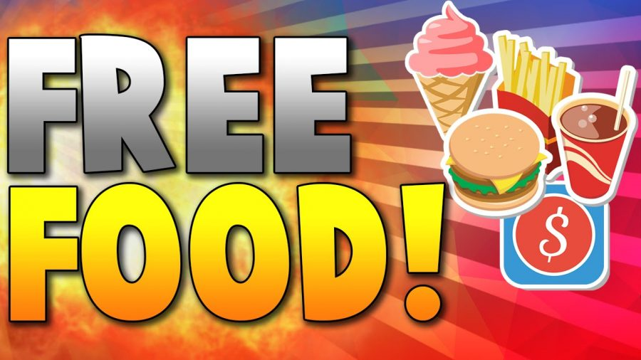 Let's start Spring with free food