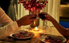 Valentine's day dinner dates