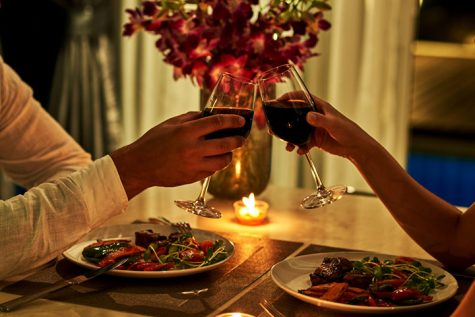 Valentine's day dinner dates