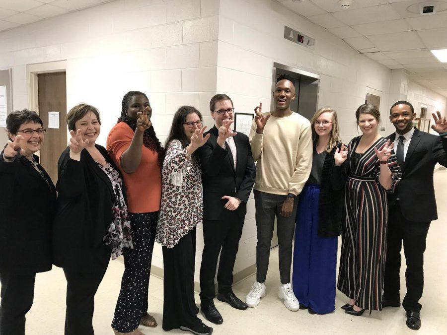 Alumni return, discuss life after graduation