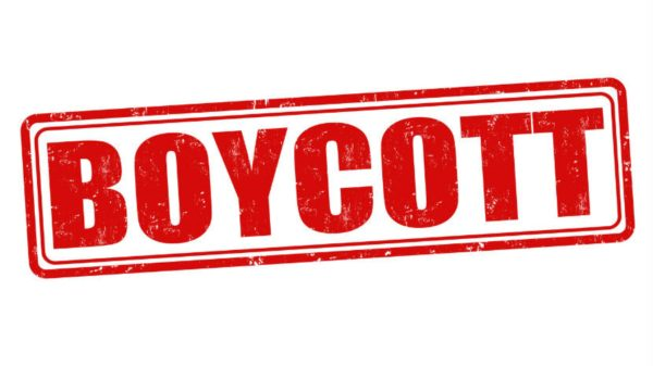 Boycotts should be common practice
