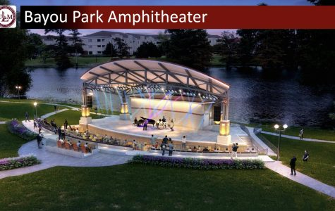 Amphitheater to be built beside Bayou Desiard
