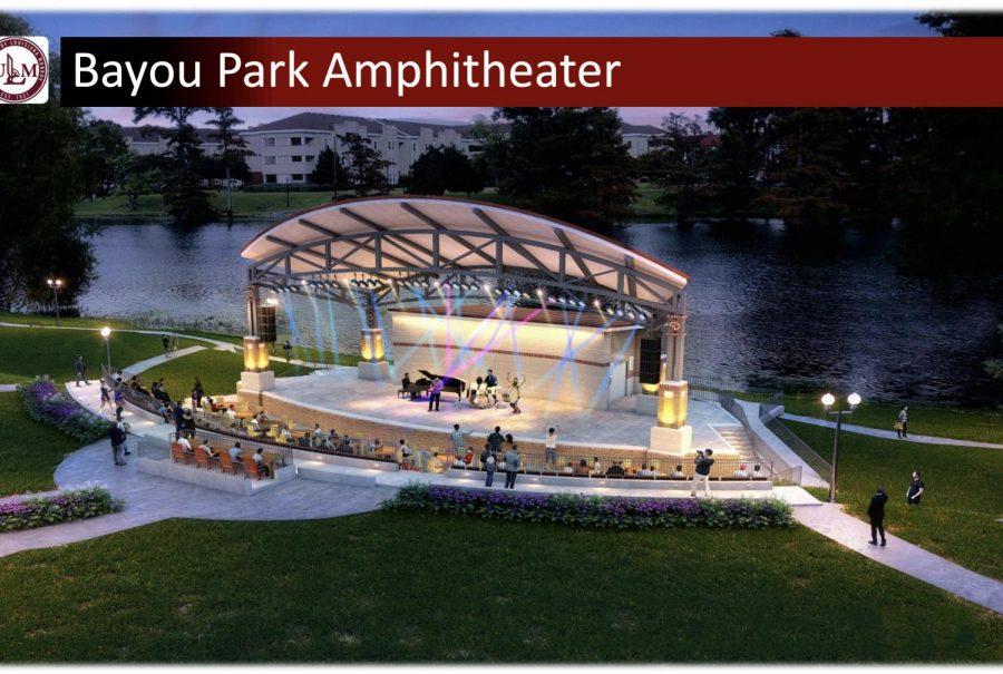 Amphitheater to be built beside Bayou Desiard
