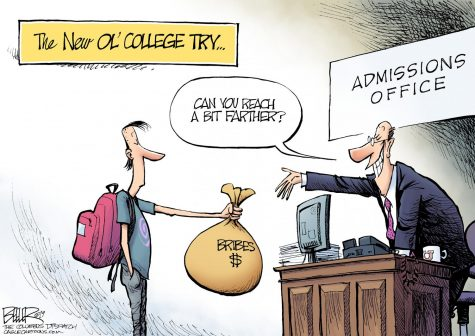 HAWKEYE P.O.V. : Money shouldn't guarantee your admission to college
