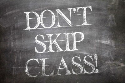 New season doesn't mean you can skip class