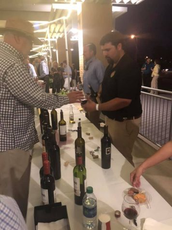 Wine Over Water raises money  for scholarship