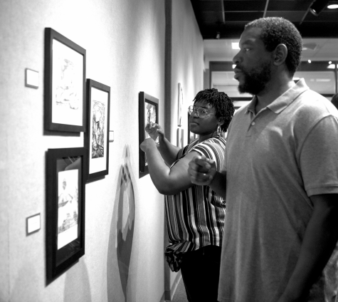 Annual exhibition awards students, provides professional platform