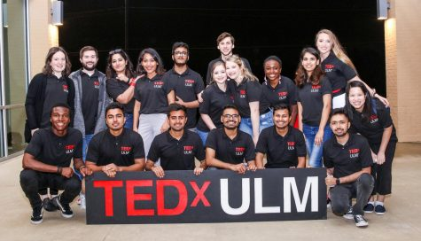 TEDx colors outside the lines at ULM
